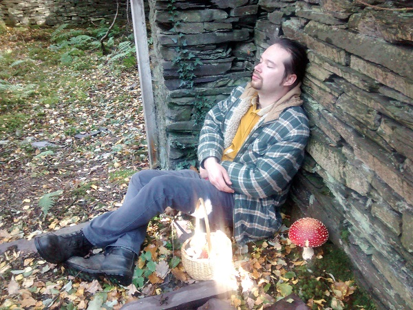 Dafydd, Herbary Master in the company of Fly Agaric