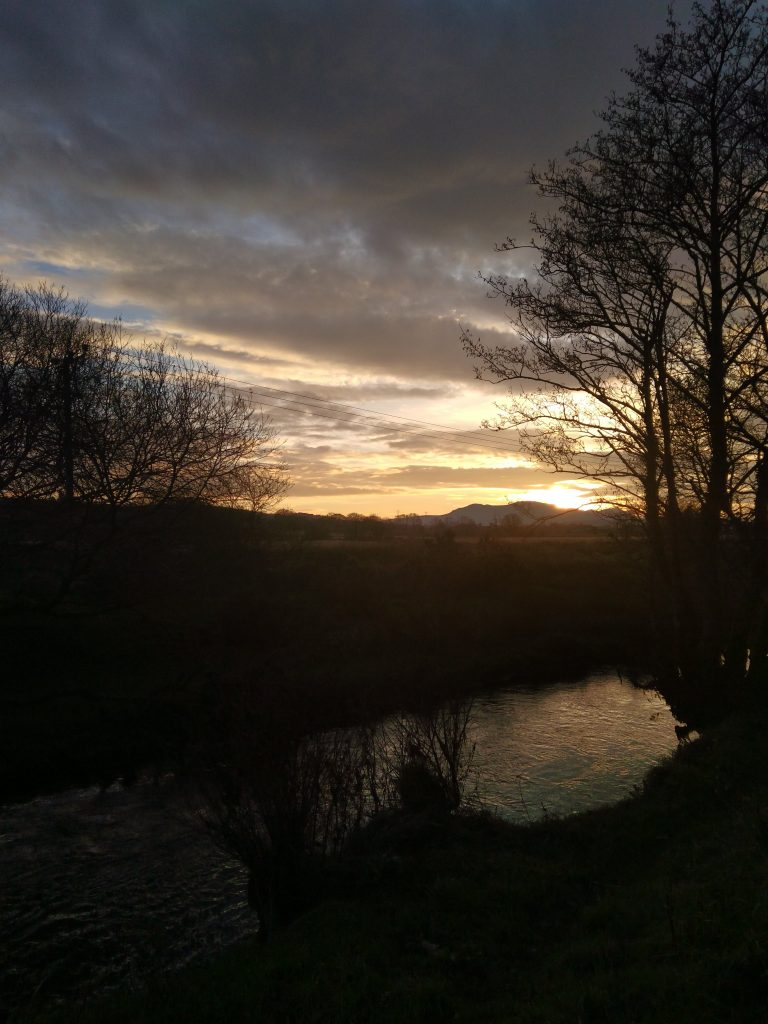 River Llyfni Winter