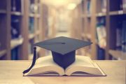 Mortarboard on Book